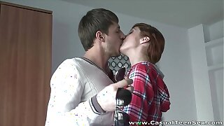 Casual Teen Sex - Awesome sex with hot teeny Red Fox teen porn